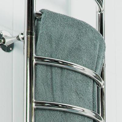 handdukstork för radiatorsystemet med vattenanslutning