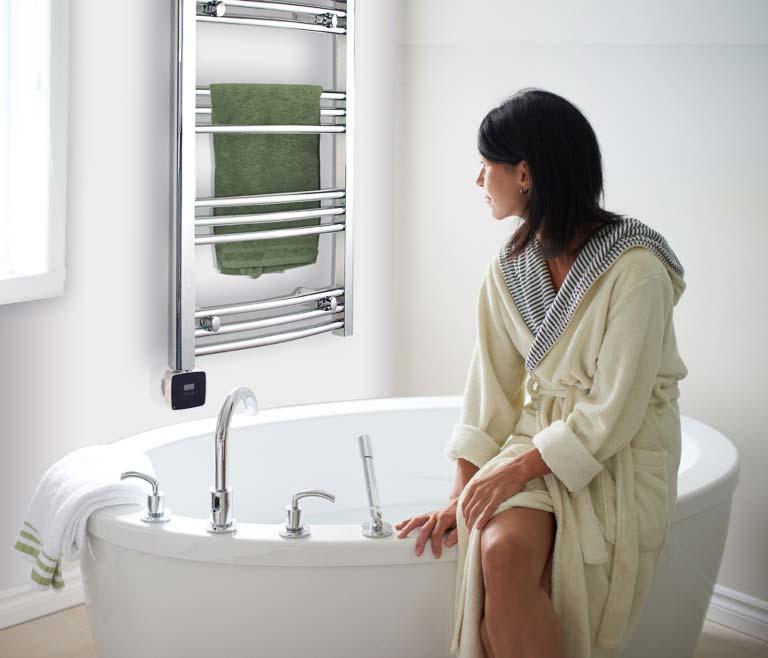 Handdukstorkar för alla badrum