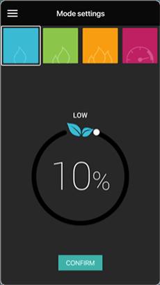 App för handdukstork - konfigurera efter dina önskemål
