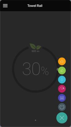 App för handdukstork - olle-connect - finns på appstore och google play