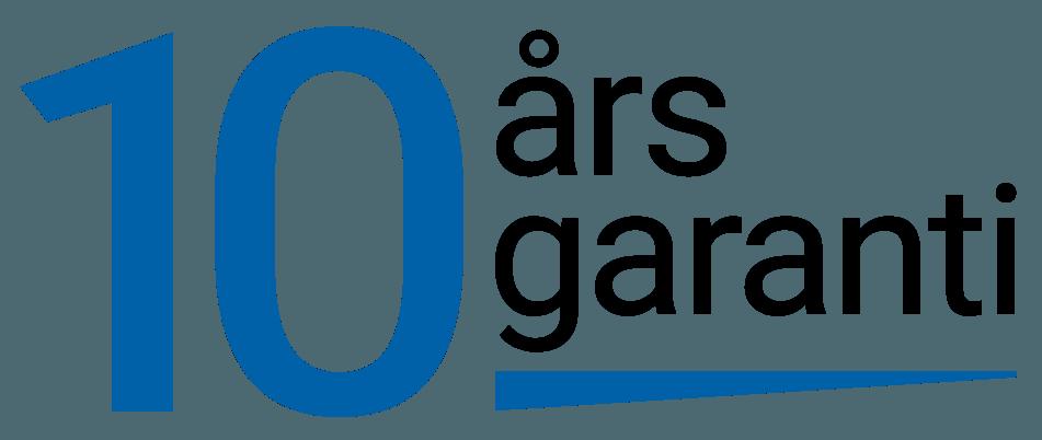 10 års garanti på handdukstorkar