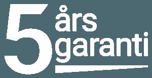 5 års garanti på handtorkar