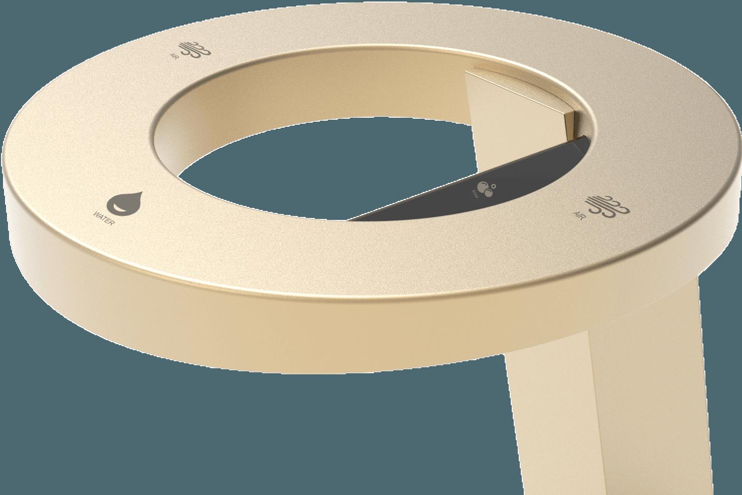 Handtork Soma Concept 3 Guld - handtork, tvål och vattenkran