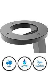 Handtork Soma Concept 3 med tvåldispenser och vattenkran