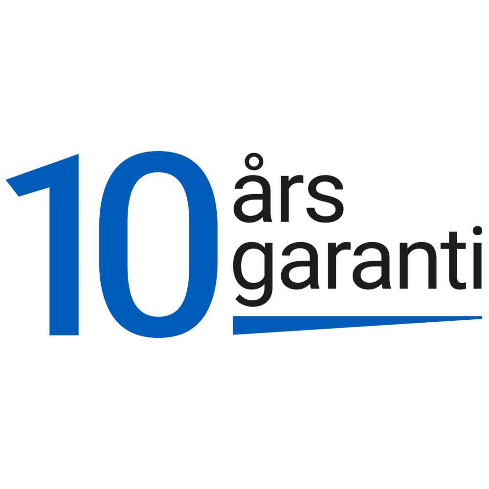 10 års garanti handdukstorkar