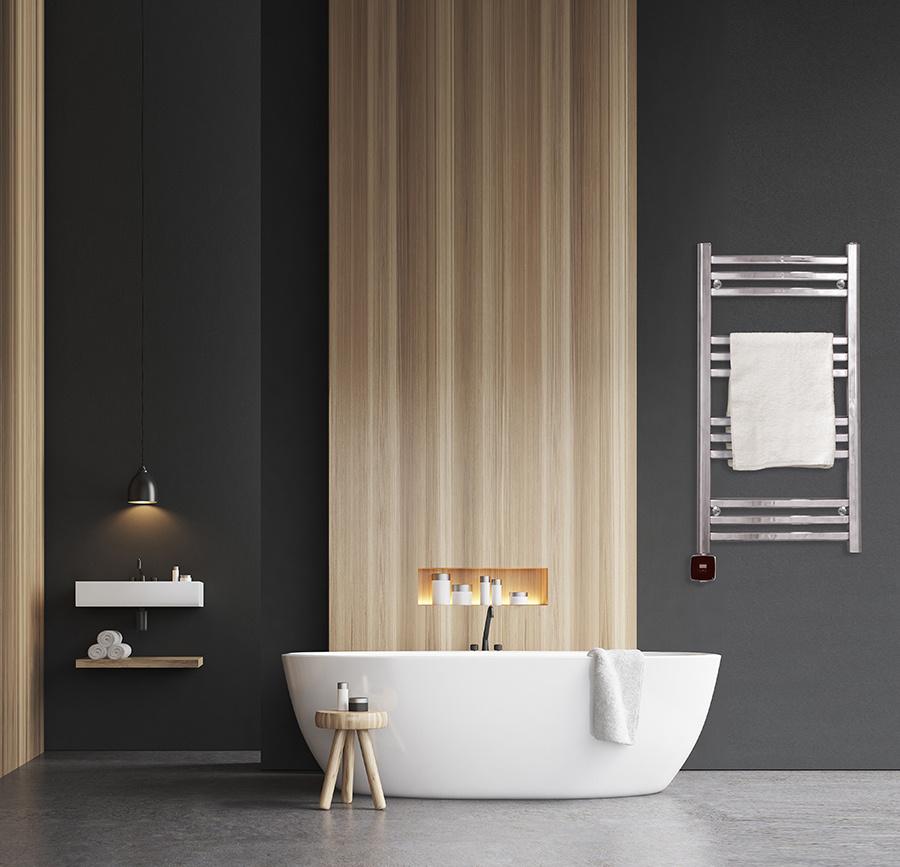Handdukstork Sjöhaget i modernt badrum